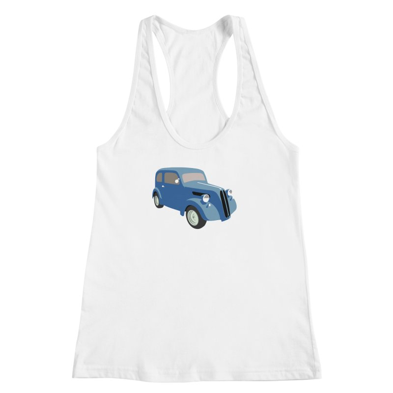 VOITURE-5 Women's Racerback Tank by THE ORANGE ZEROMAX STREET COUTURE