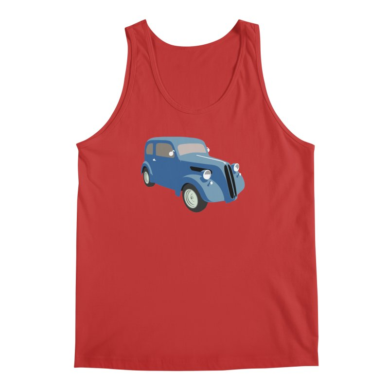 VOITURE-5 Men's Tank by THE ORANGE ZEROMAX STREET COUTURE