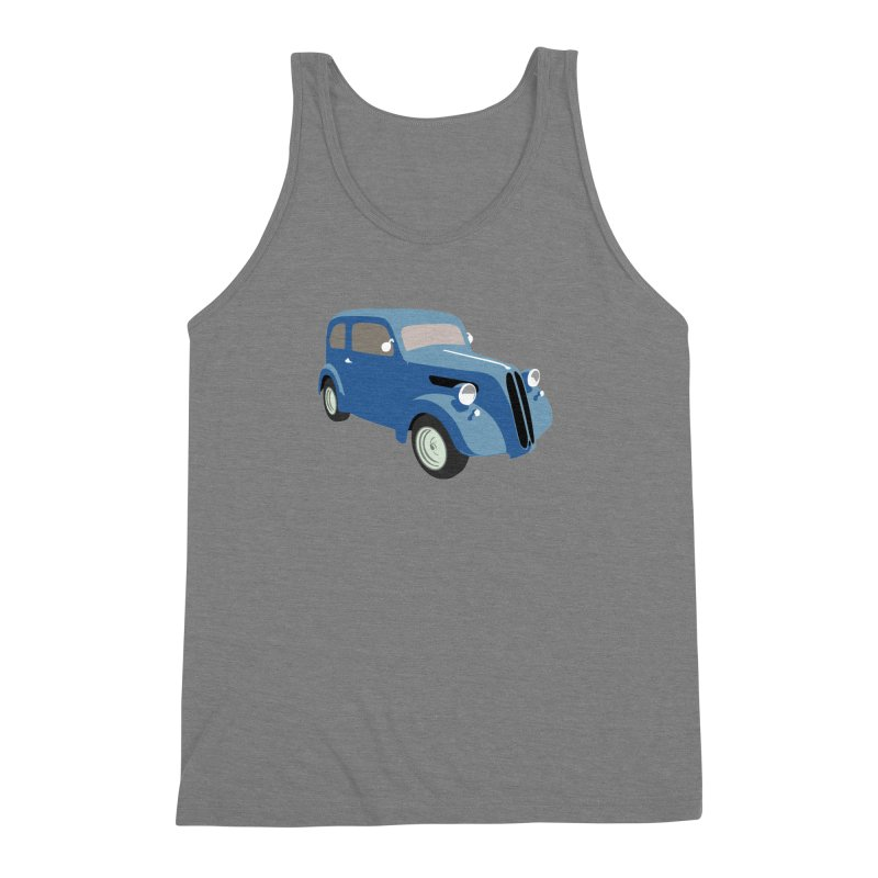 VOITURE-5 Men's Triblend Tank by THE ORANGE ZEROMAX STREET COUTURE