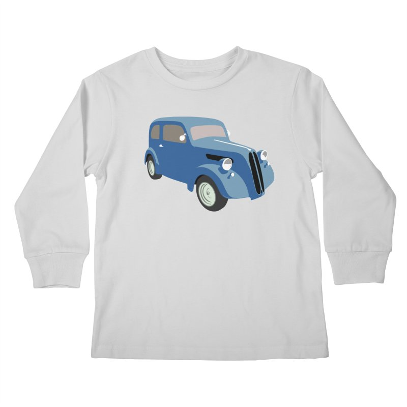 VOITURE-5 Kids Longsleeve T-Shirt by THE ORANGE ZEROMAX STREET COUTURE