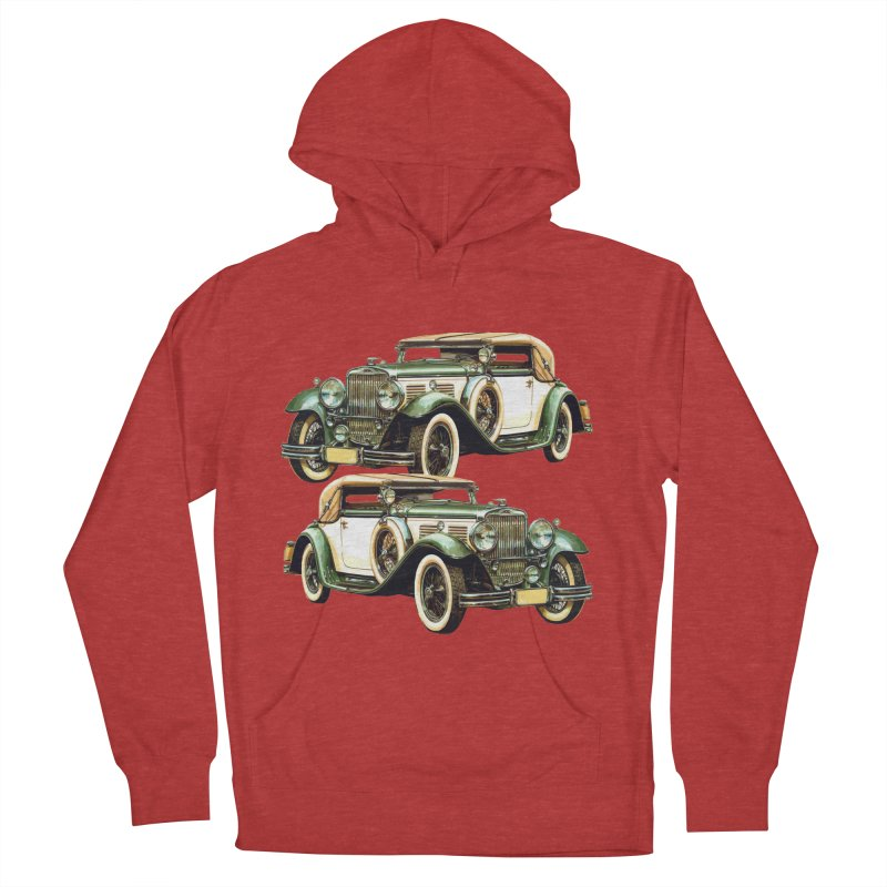 VOITURE-6 Women's Pullover Hoody by THE ORANGE ZEROMAX STREET COUTURE