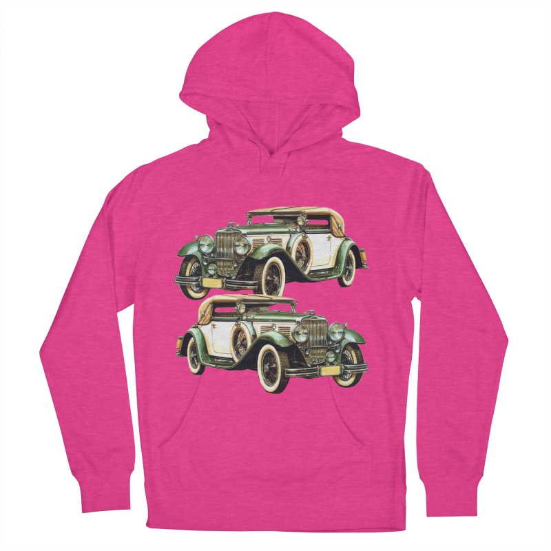 VOITURE-6 Men's French Terry Pullover Hoody by THE ORANGE ZEROMAX STREET COUTURE