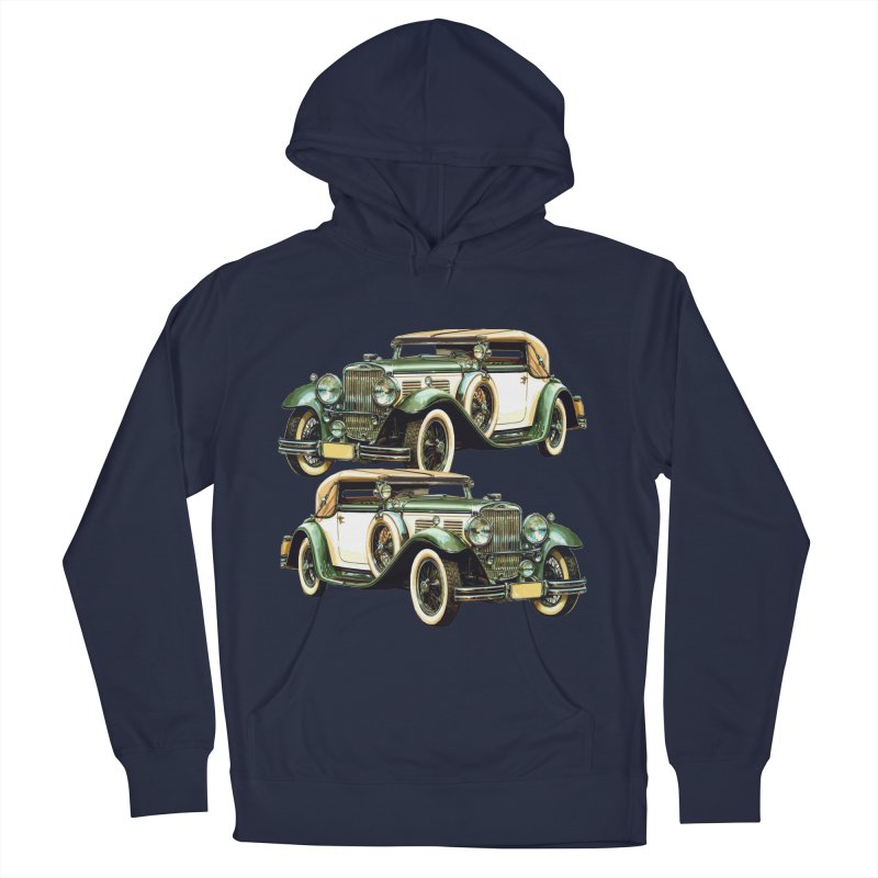 VOITURE-6 Men's Pullover Hoody by THE ORANGE ZEROMAX STREET COUTURE