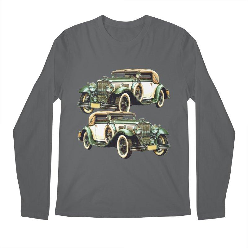 VOITURE-6 Men's Regular Longsleeve T-Shirt by THE ORANGE ZEROMAX STREET COUTURE