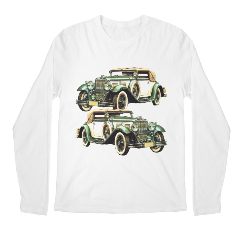 VOITURE-6 Men's Longsleeve T-Shirt by THE ORANGE ZEROMAX STREET COUTURE