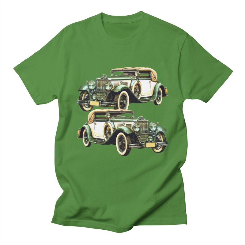 VOITURE-6 Men's Regular T-Shirt by THE ORANGE ZEROMAX STREET COUTURE