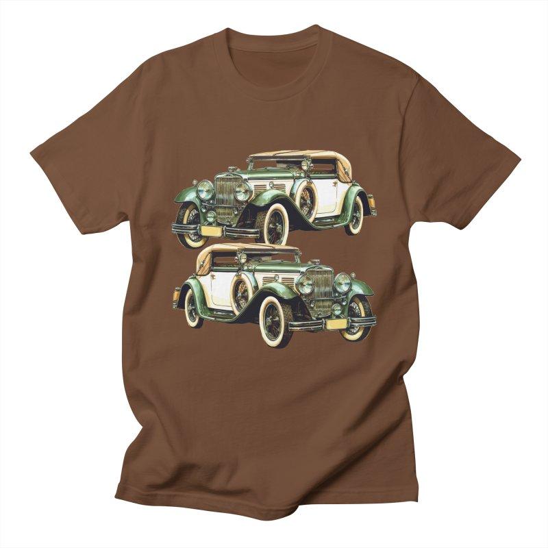 VOITURE-6 Men's Regular T-Shirt by THE ORANGE ZEROMAX STREET COUTURE