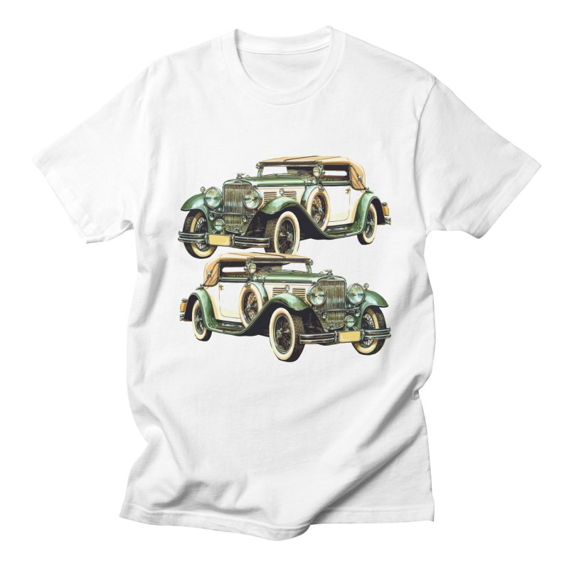 VOITURE-6 Men's T-Shirt by THE ORANGE ZEROMAX STREET COUTURE
