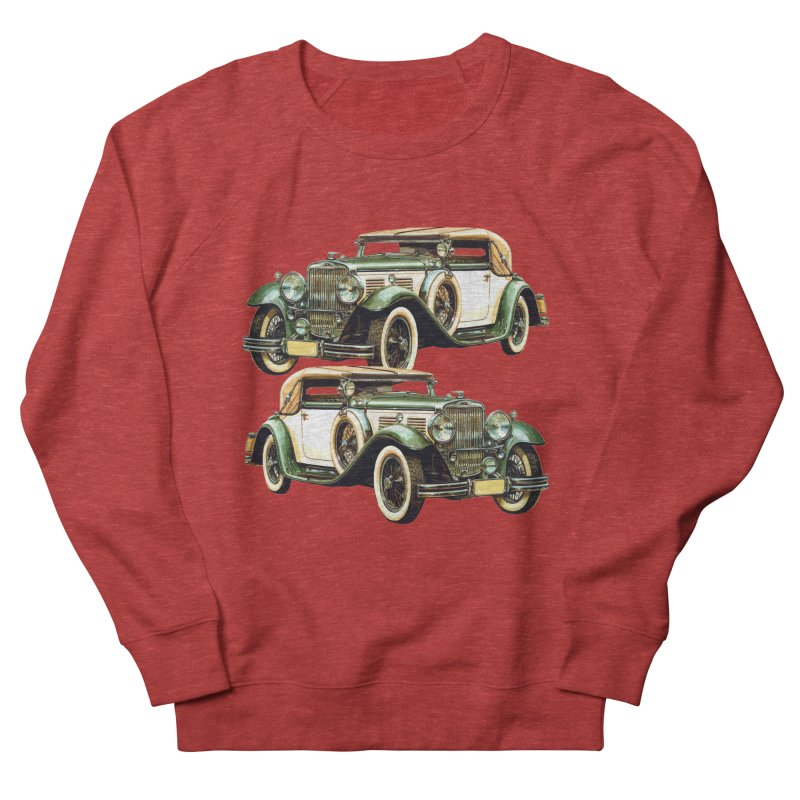 VOITURE-6 Women's Sweatshirt by THE ORANGE ZEROMAX STREET COUTURE