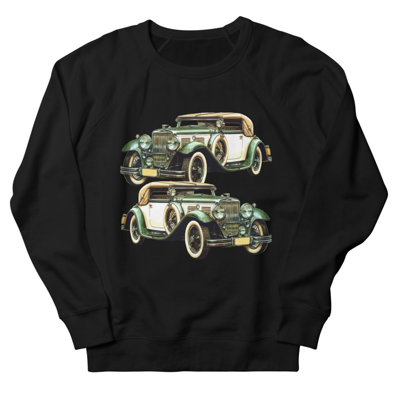 VOITURE-6 Men's French Terry Sweatshirt by THE ORANGE ZEROMAX STREET COUTURE