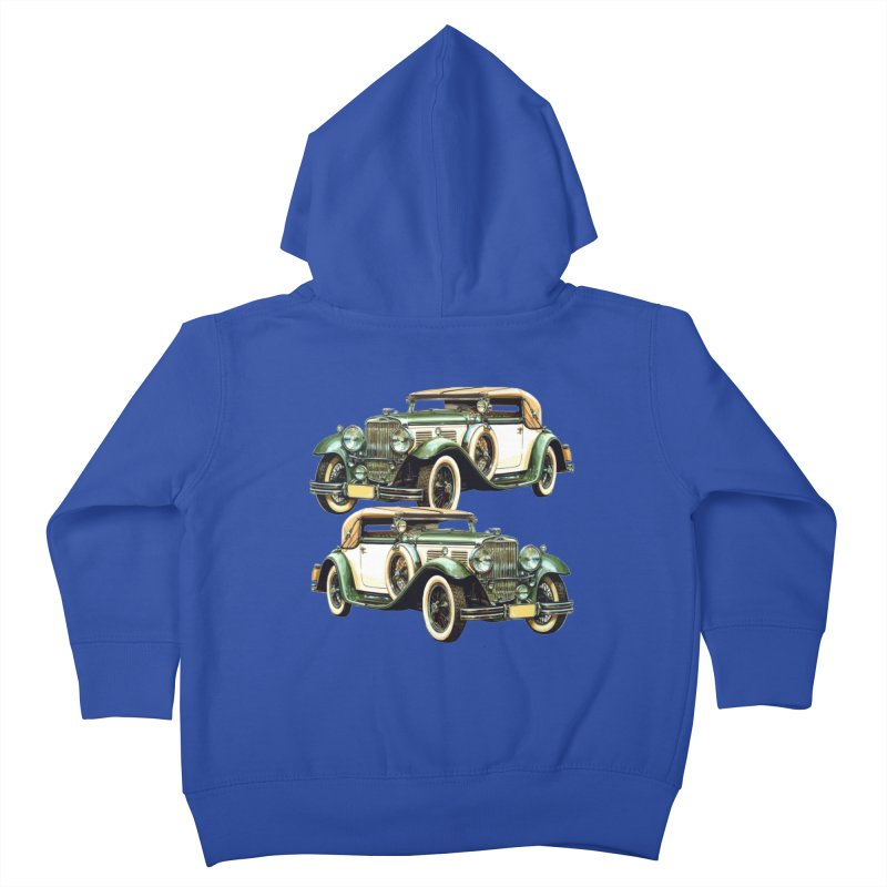 VOITURE-6 Kids Toddler Zip-Up Hoody by THE ORANGE ZEROMAX STREET COUTURE