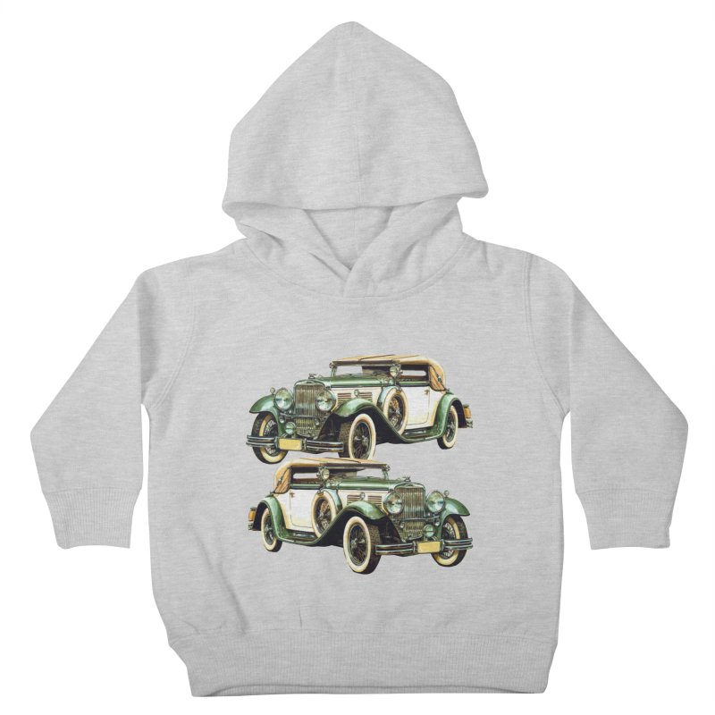 VOITURE-6 Kids Toddler Pullover Hoody by THE ORANGE ZEROMAX STREET COUTURE
