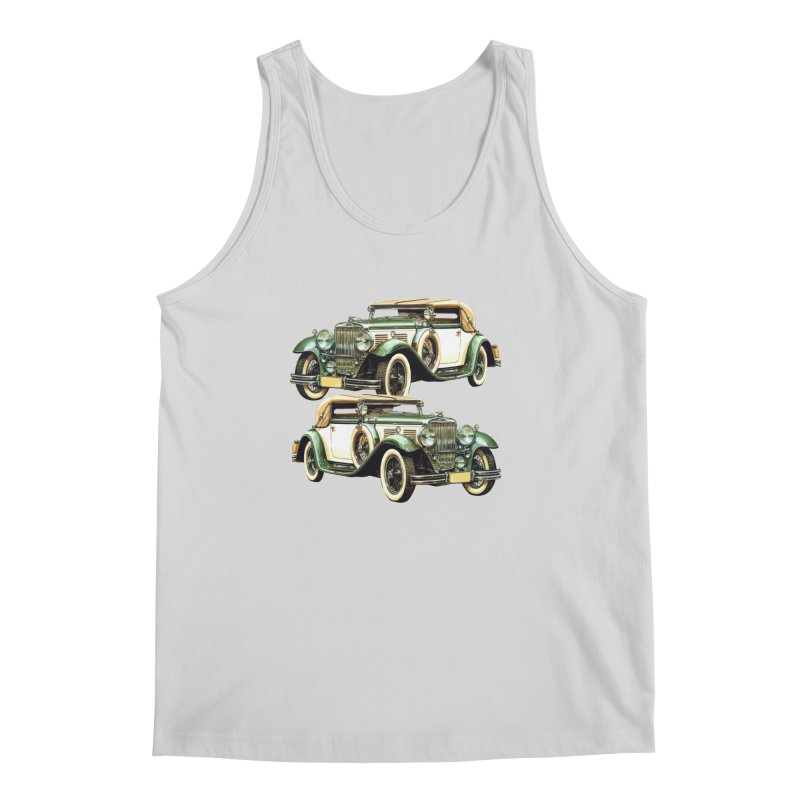 VOITURE-6 Men's Tank by THE ORANGE ZEROMAX STREET COUTURE