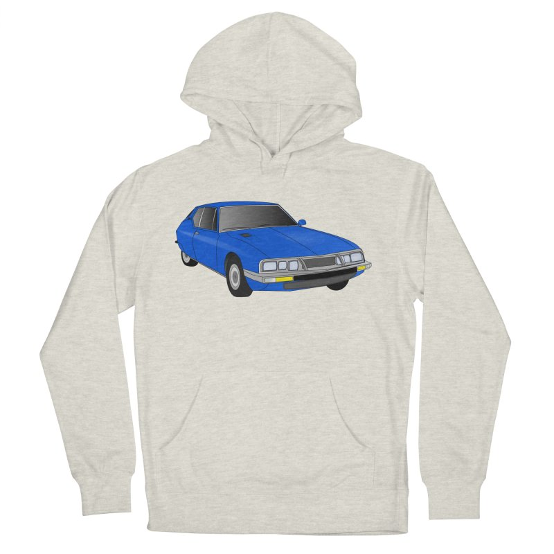 VOITURE-7 Women's Pullover Hoody by THE ORANGE ZEROMAX STREET COUTURE