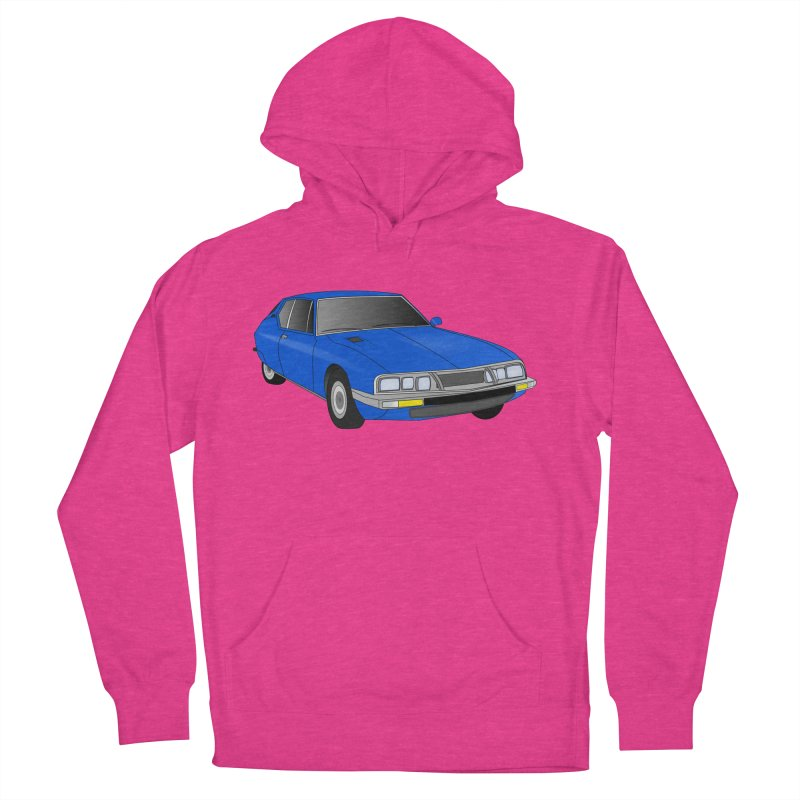 VOITURE-7 Men's Pullover Hoody by THE ORANGE ZEROMAX STREET COUTURE