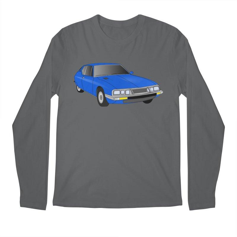 VOITURE-7 Men's Regular Longsleeve T-Shirt by THE ORANGE ZEROMAX STREET COUTURE
