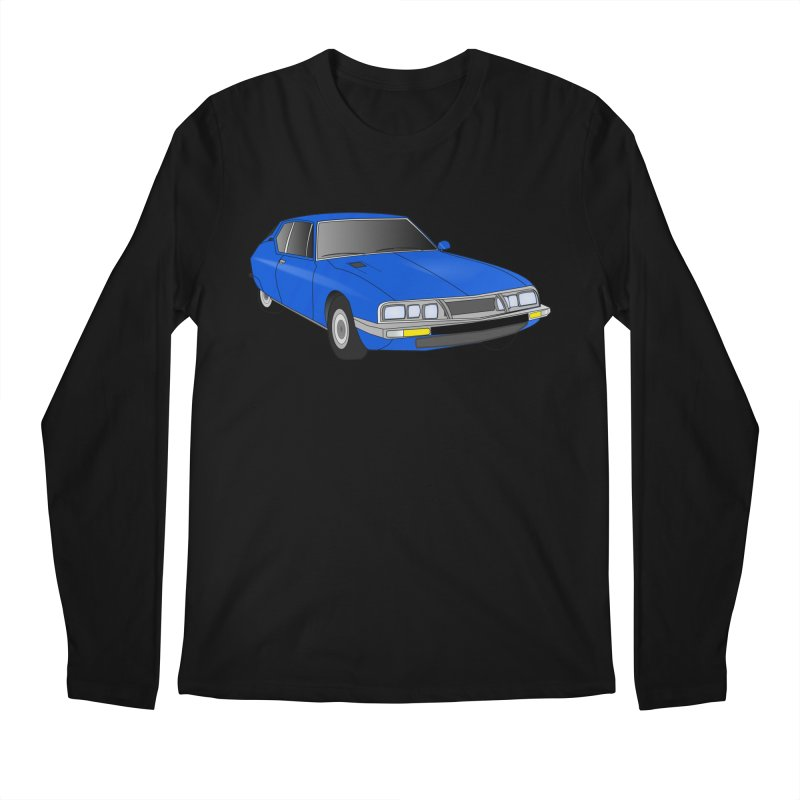 VOITURE-7 Men's Longsleeve T-Shirt by THE ORANGE ZEROMAX STREET COUTURE