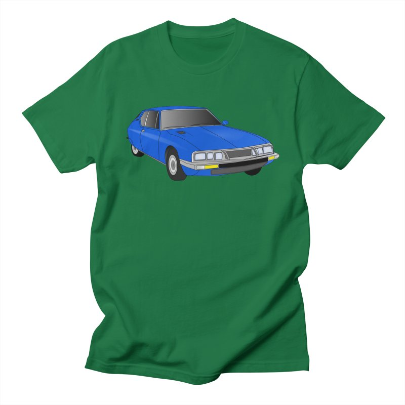VOITURE-7 Men's Regular T-Shirt by THE ORANGE ZEROMAX STREET COUTURE