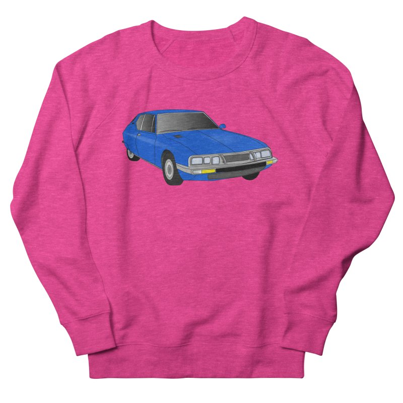 VOITURE-7 Women's Sweatshirt by THE ORANGE ZEROMAX STREET COUTURE