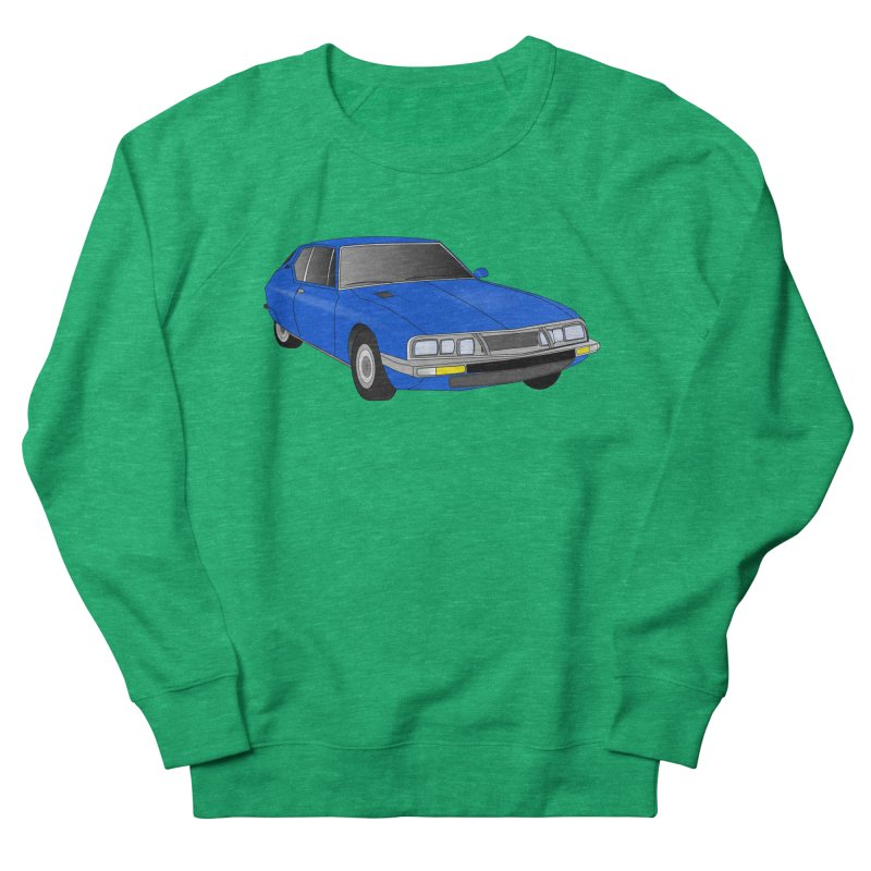 VOITURE-7 Men's Sweatshirt by THE ORANGE ZEROMAX STREET COUTURE