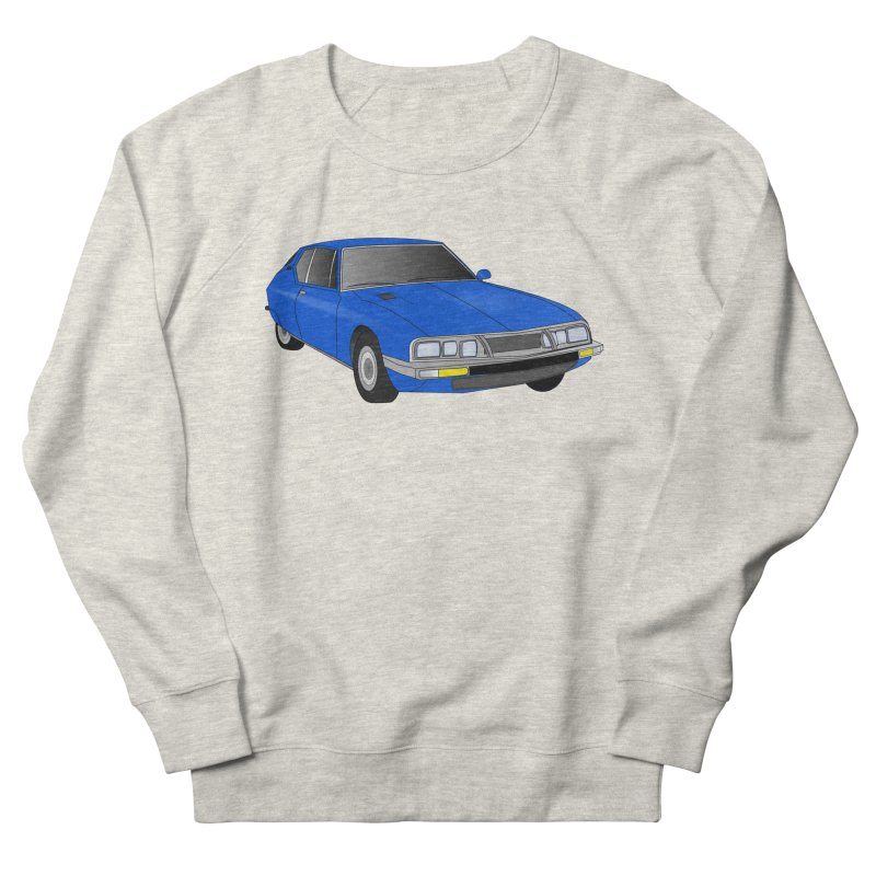 VOITURE-7 Men's French Terry Sweatshirt by THE ORANGE ZEROMAX STREET COUTURE