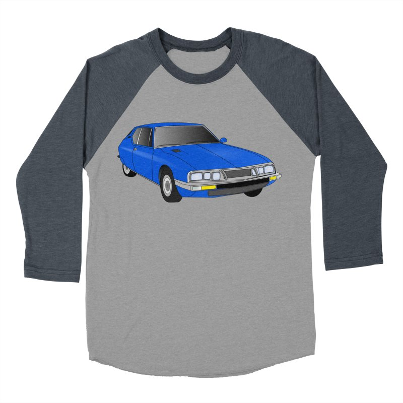 VOITURE-7 Women's Baseball Triblend T-Shirt by THE ORANGE ZEROMAX STREET COUTURE