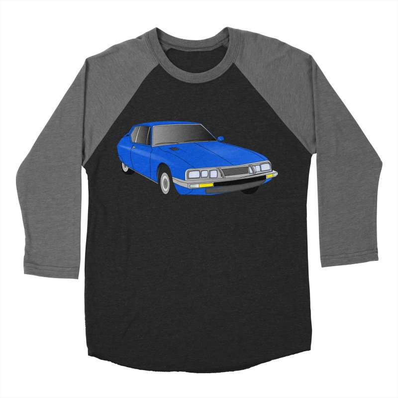 VOITURE-7 Men's Baseball Triblend Longsleeve T-Shirt by THE ORANGE ZEROMAX STREET COUTURE