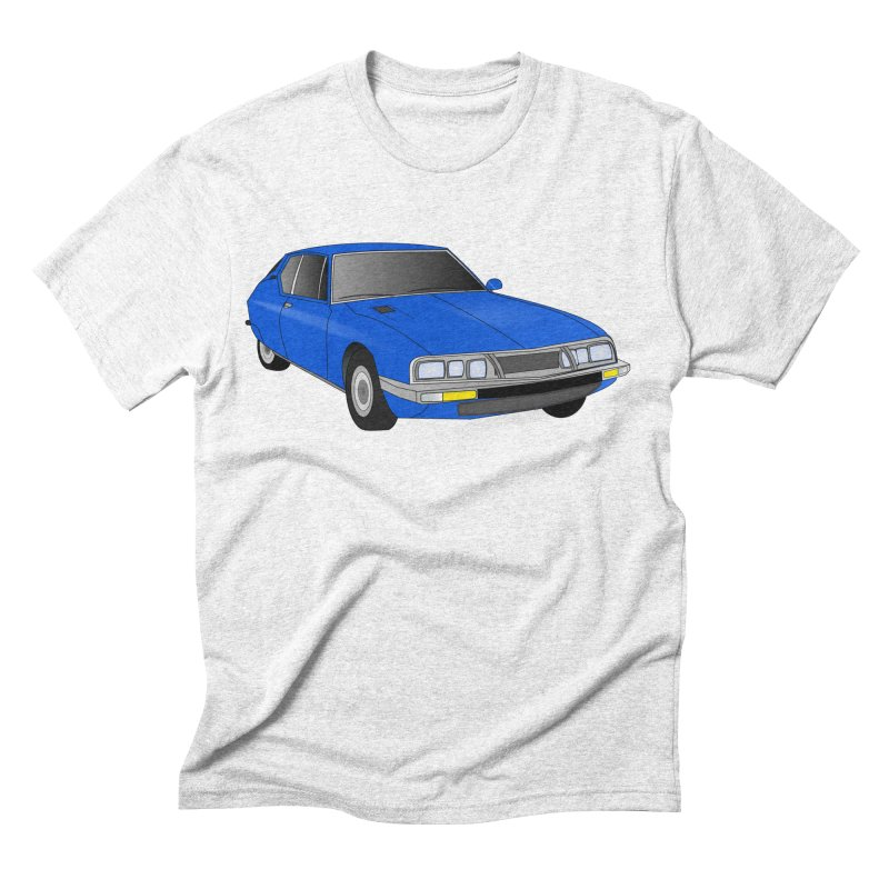 VOITURE-7 Men's Triblend T-shirt by THE ORANGE ZEROMAX STREET COUTURE