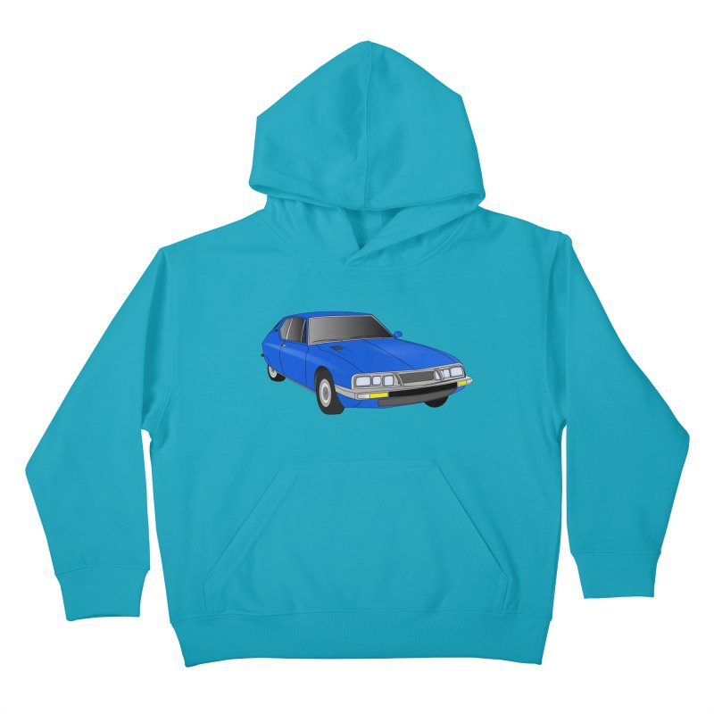 VOITURE-7 Kids Pullover Hoody by THE ORANGE ZEROMAX STREET COUTURE