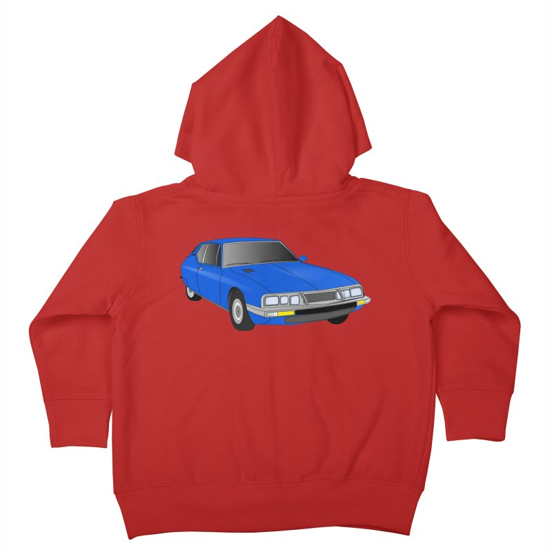 VOITURE-7 Kids Toddler Zip-Up Hoody by THE ORANGE ZEROMAX STREET COUTURE