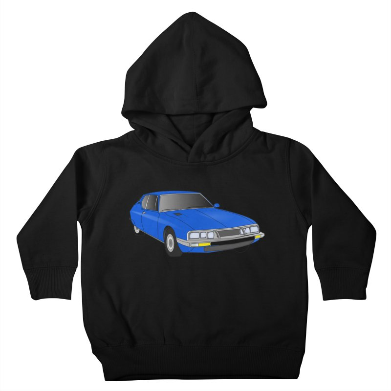 VOITURE-7 Kids Toddler Pullover Hoody by THE ORANGE ZEROMAX STREET COUTURE