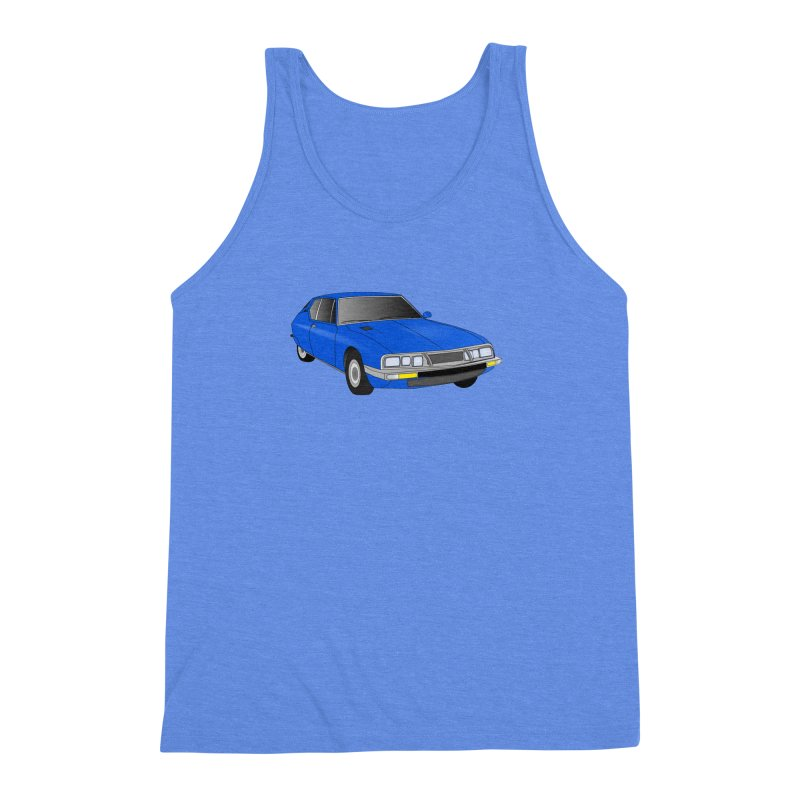 VOITURE-7 Men's Triblend Tank by THE ORANGE ZEROMAX STREET COUTURE
