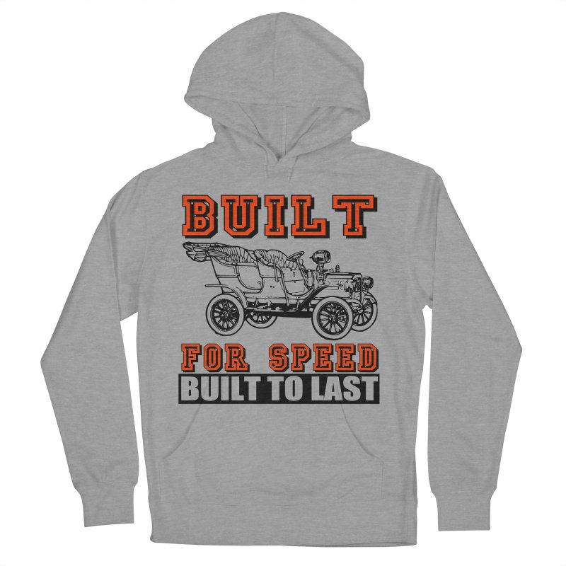 BUILT FOR SPEED-778 Men's Pullover Hoody by THE ORANGE ZEROMAX STREET COUTURE