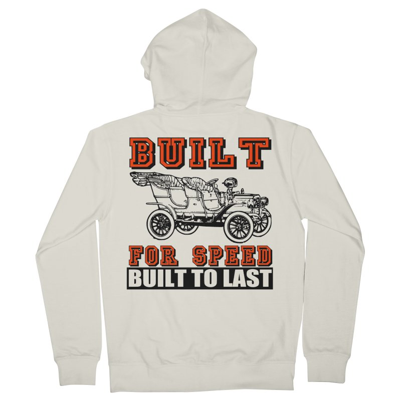 BUILT FOR SPEED-778 Women's Zip-Up Hoody by THE ORANGE ZEROMAX STREET COUTURE