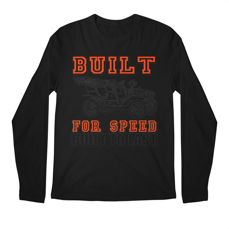 BUILT FOR SPEED-778 Men's Longsleeve T-Shirt by THE ORANGE ZEROMAX STREET COUTURE