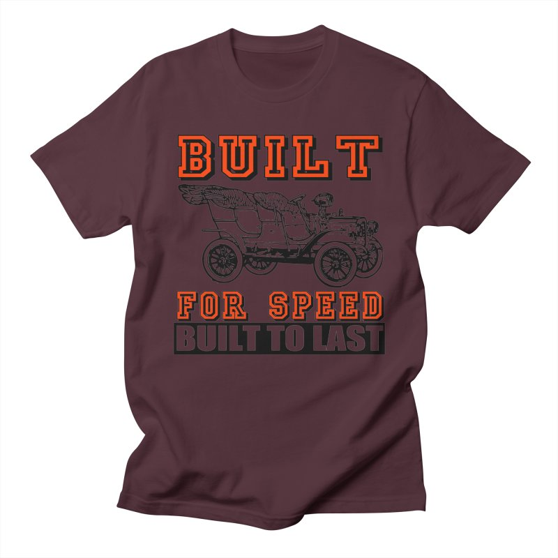 BUILT FOR SPEED-778 Men's T-shirt by THE ORANGE ZEROMAX STREET COUTURE