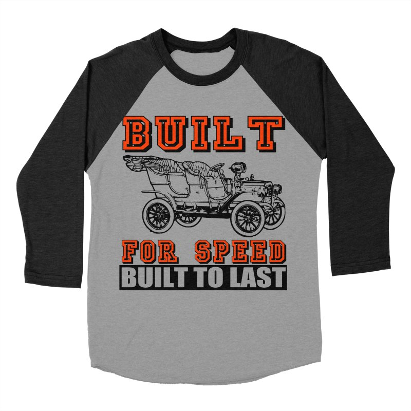 BUILT FOR SPEED-778 Men's Baseball Triblend Longsleeve T-Shirt by THE ORANGE ZEROMAX STREET COUTURE