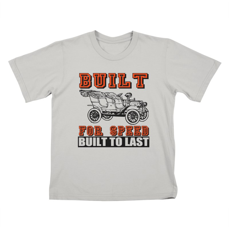 BUILT FOR SPEED-778 Kids T-shirt by THE ORANGE ZEROMAX STREET COUTURE