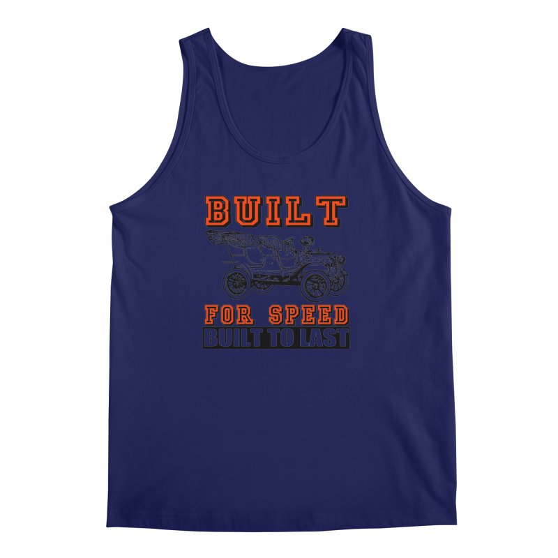 BUILT FOR SPEED-778 Men's Tank by THE ORANGE ZEROMAX STREET COUTURE