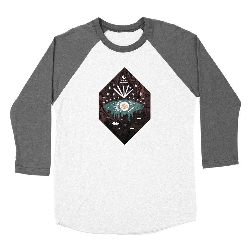 Oversight Men's Baseball Triblend Longsleeve T-Shirt by