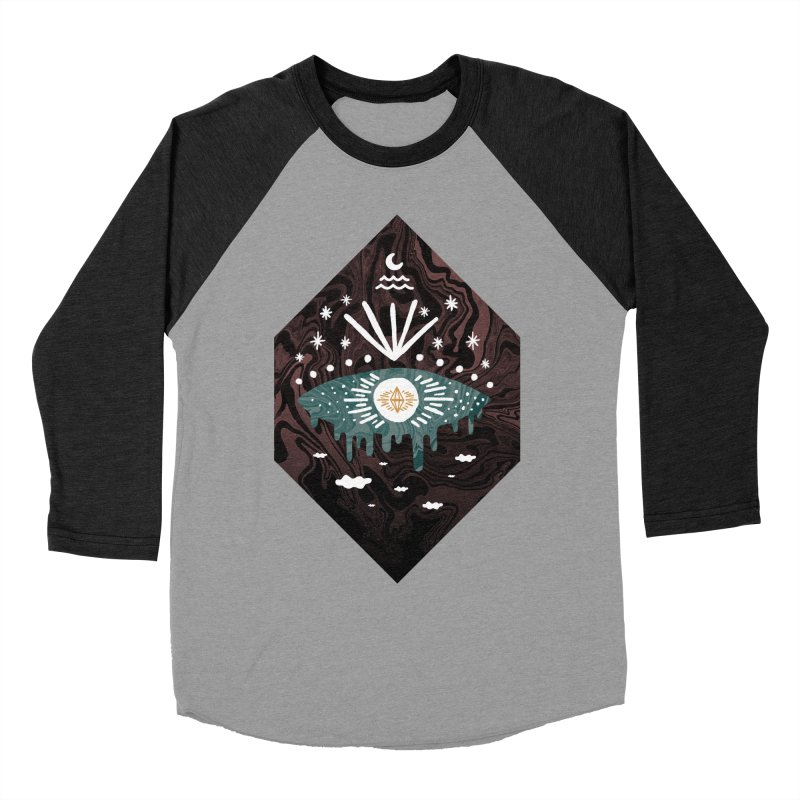 Oversight Men's Baseball Triblend Longsleeve T-Shirt by ordinary fox