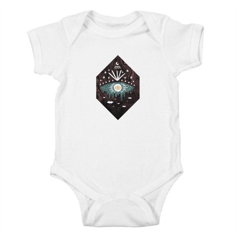 Oversight Kids Baby Bodysuit by ordinary fox