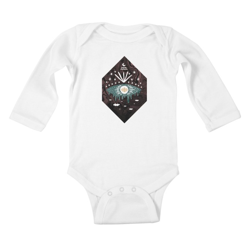 Oversight Kids Baby Longsleeve Bodysuit by