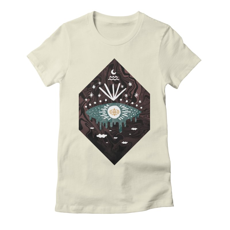 Oversight Women's Fitted T-Shirt by ordinary fox