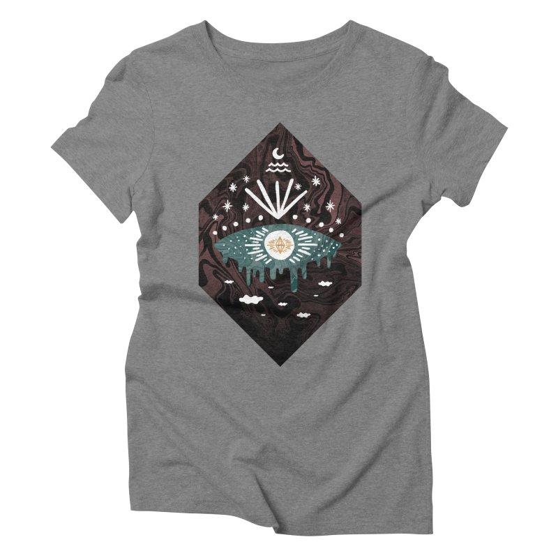 Oversight Women's Triblend T-Shirt by ordinary fox