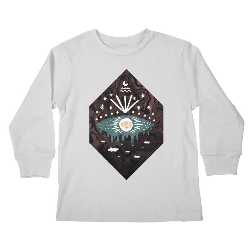 Oversight Kids Longsleeve T-Shirt by ordinaryfox