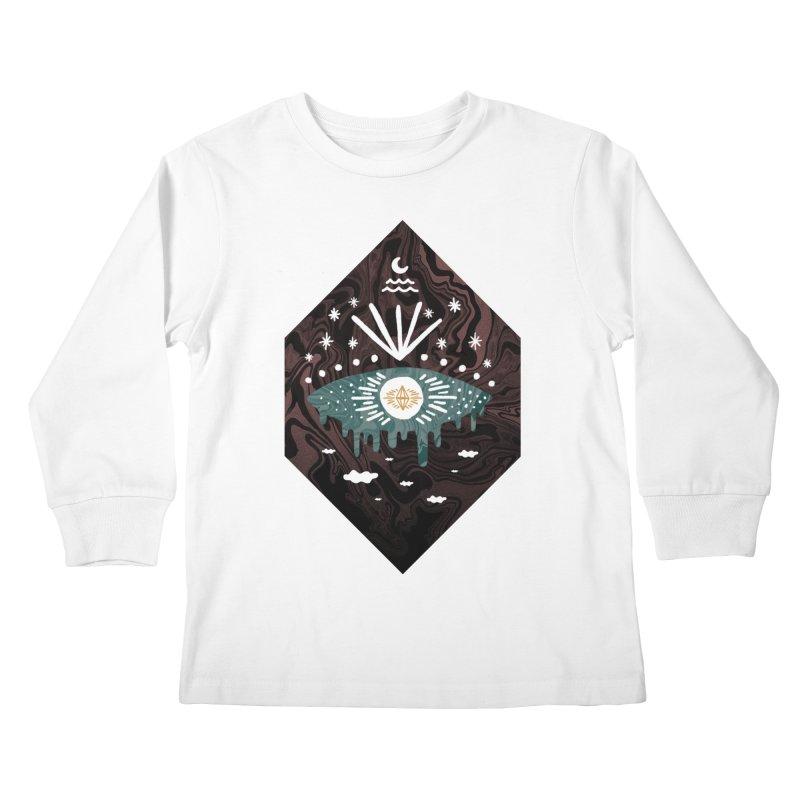 Oversight Kids Longsleeve T-Shirt by ordinary fox