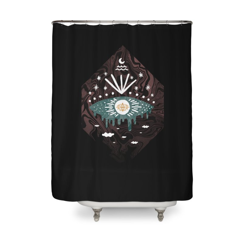 Oversight Home Shower Curtain by ordinary fox