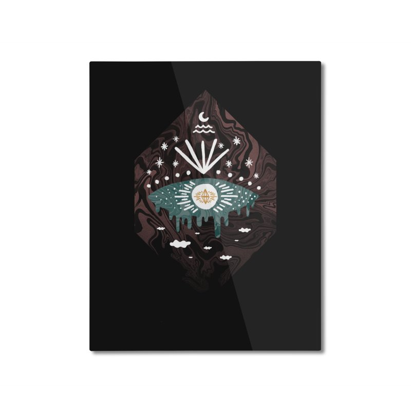 Oversight Home Mounted Aluminum Print by ordinaryfox