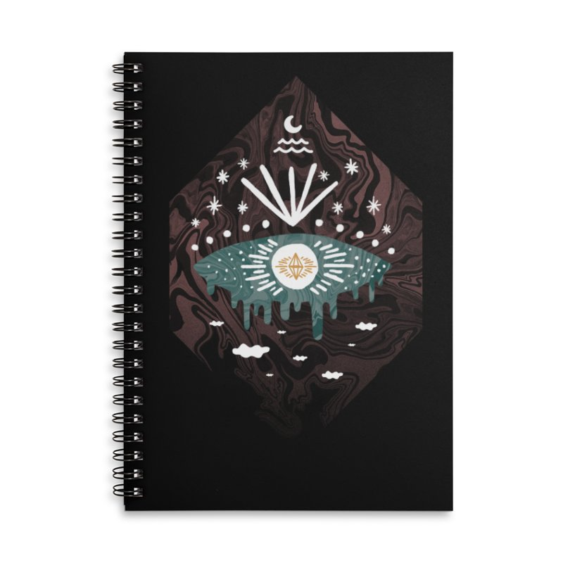 Oversight Accessories Lined Spiral Notebook by ordinary fox